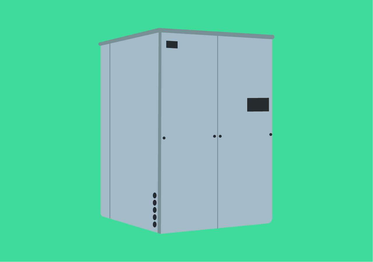 吸収式冷温水器