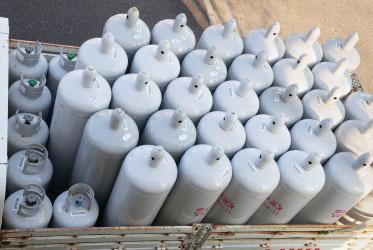 ガスの供給方法